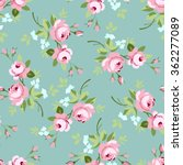 seamless floral pattern with... | Shutterstock .eps vector #362277089