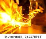 welding robots represent the...   Shutterstock . vector #362278955