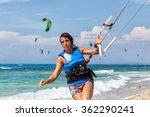 lefkada  greece  august 12 2015 ... | Shutterstock . vector #362290241
