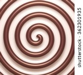 abstract chocolate and cream... | Shutterstock .eps vector #362301935