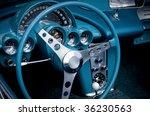 blue car cockpit   Shutterstock . vector #36230563