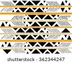 geometric ethnic pattern ... | Shutterstock .eps vector #362344247
