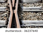 a trail  a switch  ground | Shutterstock . vector #36237640