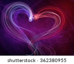 Heart Lovely Shine Background