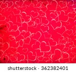 valentines day background with... | Shutterstock . vector #362382401