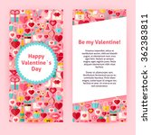 flyer template of happy ... | Shutterstock .eps vector #362383811