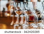 wine glasses | Shutterstock . vector #362420285