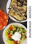 tomatoes  aubergines  greek... | Shutterstock . vector #3624221