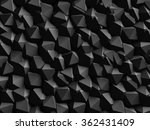 abstract dark geometric wall...