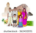 vector design of bihari family... | Shutterstock .eps vector #362432051