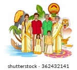 vector design of keralite... | Shutterstock .eps vector #362432141