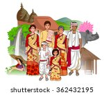 vector design of assamese... | Shutterstock .eps vector #362432195