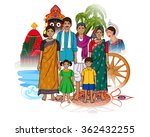 vector design of odia family... | Shutterstock .eps vector #362432255