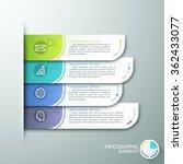 modern paper infographics...   Shutterstock .eps vector #362433077