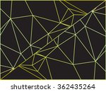 abstract colorful outline of... | Shutterstock .eps vector #362435264