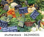 Asparagus Vegetables At Farmer...