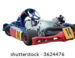 isolated kart on white... | Shutterstock . vector #3624476