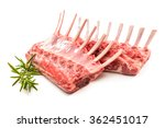 racks of lamb ready for cooking ...   Shutterstock . vector #362451017