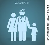 family practice vector...   Shutterstock .eps vector #362454755