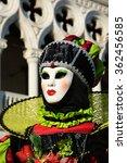 mask at venice carnival   italy | Shutterstock . vector #362456585