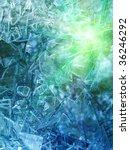 glass   broken | Shutterstock . vector #36246292