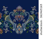 seamless paisley pattern ... | Shutterstock .eps vector #362465165
