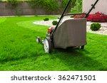 lawn mower | Shutterstock . vector #362471501