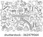 kindergarten design colorless...