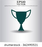 trophy icon or symbol | Shutterstock .eps vector #362490521