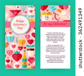 flyer template of happy... | Shutterstock .eps vector #362491349