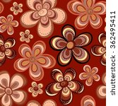 tiny floral seamless pattern.... | Shutterstock .eps vector #362495411