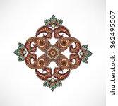arabic ornament background... | Shutterstock .eps vector #362495507