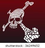 fractured skull   Shutterstock .eps vector #36249652