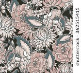 vintage floral baroque seamless ... | Shutterstock .eps vector #362515415
