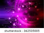 dark purple pink light abstract ... | Shutterstock . vector #362535005