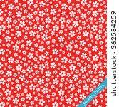 japanese cherry blossom kimono... | Shutterstock .eps vector #362584259