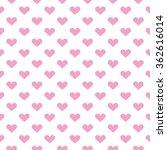 popular love heart decor... | Shutterstock .eps vector #362616014