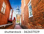 annapolis  maryland  usa view... | Shutterstock . vector #362637029