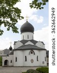 Small photo of Pokrovsky Cathedral. Marfo-Mariinsky convent of mercy. Moscow.