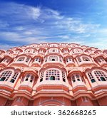 hawa mahal  the palace of winds ... | Shutterstock . vector #362668265
