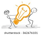 innovating together   vector... | Shutterstock .eps vector #362676101