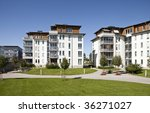 modern apartments | Shutterstock . vector #36271027