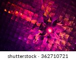 Bright And Colorful Abstract...