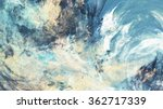 icy clouds. artistic splashes... | Shutterstock . vector #362717339
