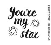 'you're My Star' Hand Brush...