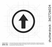 vector up arrow icon | Shutterstock .eps vector #362726024
