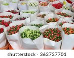 Tulips On Sale In The Market....