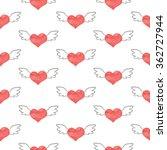 seamless valentine's day... | Shutterstock . vector #362727944