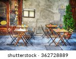 Rustic Tables And Chairs By A...