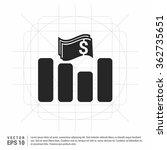 vector business chart on top...   Shutterstock .eps vector #362735651